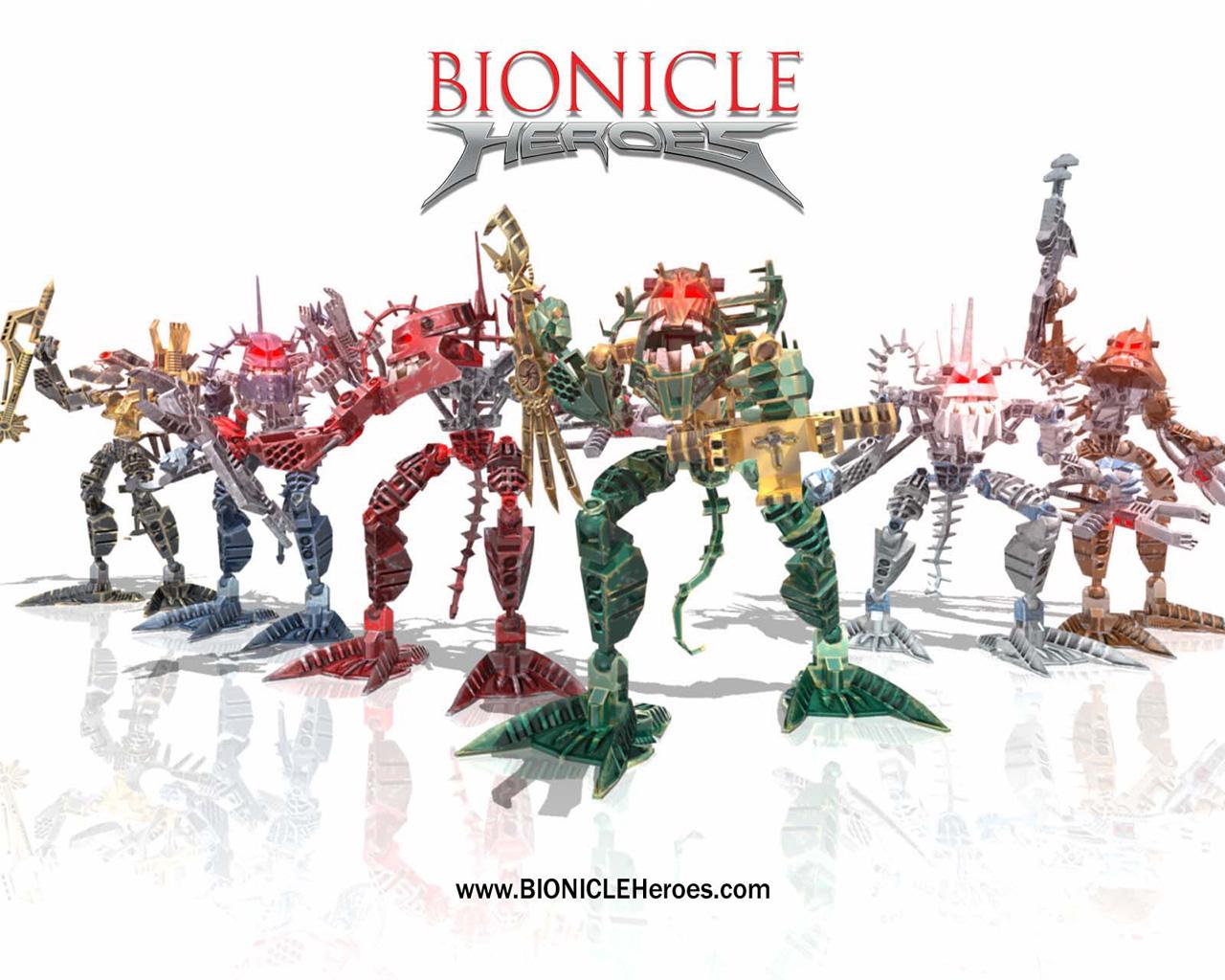 Bionicle Heroes Relate...